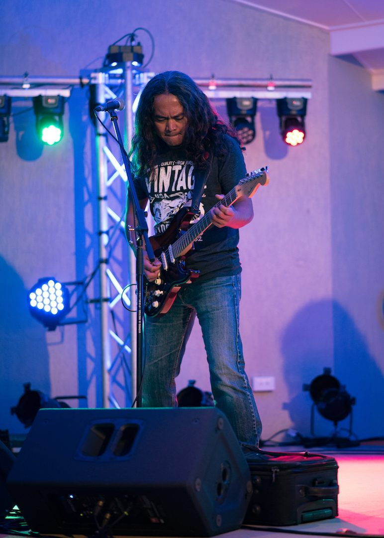 Harry Gusman - Lead Guitar & Vocal